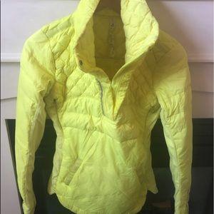 Lululemon yellow pullover